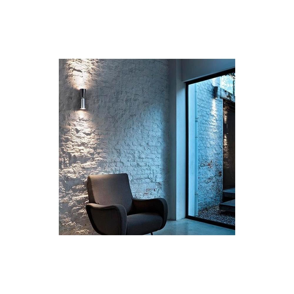 Clessidra flos for Eclairage mur en pierre interieur