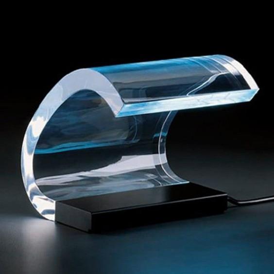 Lampada Da Tavolo Acrilica Joe Colombo : Oluce acrilica tavolo agofstore