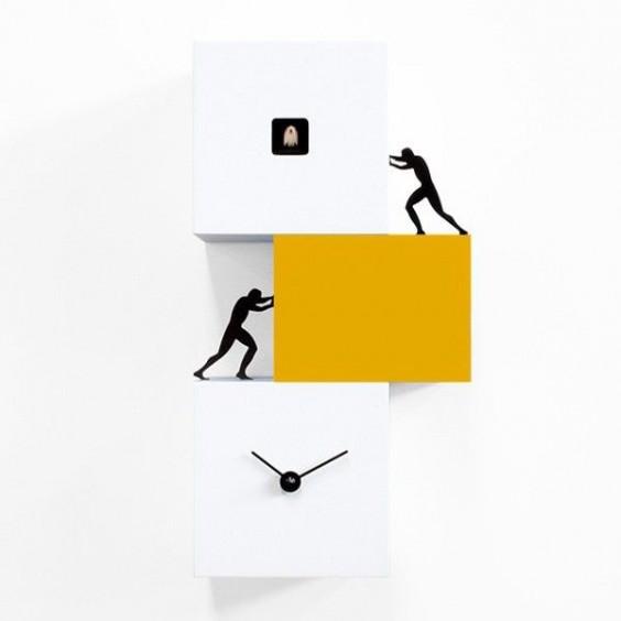 Strong Cucù 2 cuckoo clock, Progetti