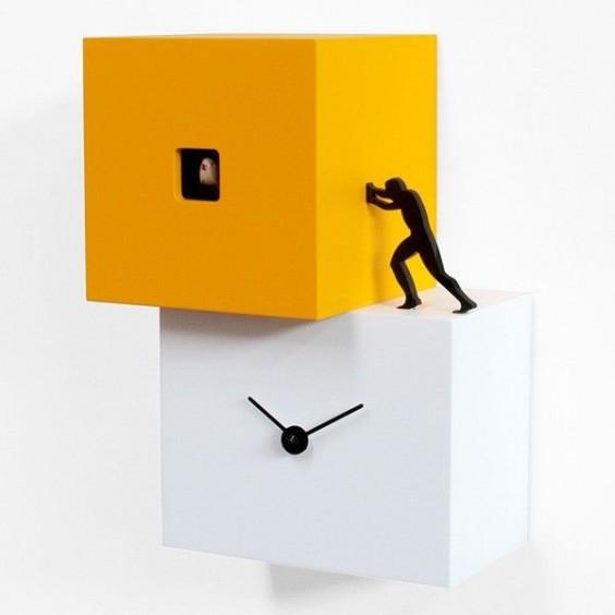 Strong Cucù 1 cuckoo clock, Progetti