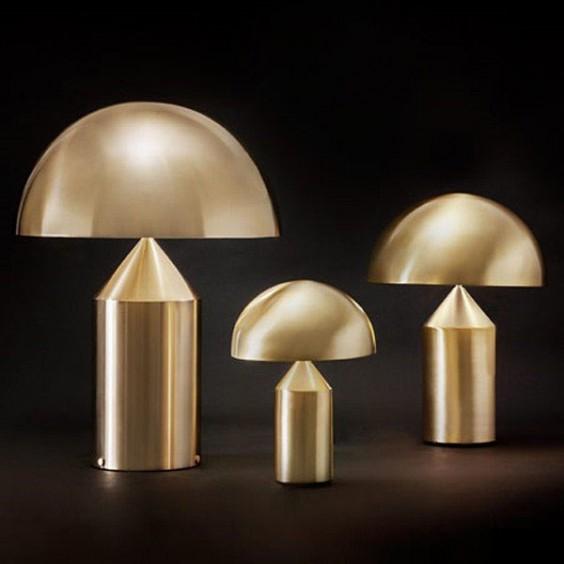 Atollo Oro Gold, Oluce